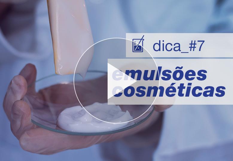 [ vídeo ] Como criar cremes e loções: os passos para você nunca mais errar ao desenvolver emulsões cosméticas
