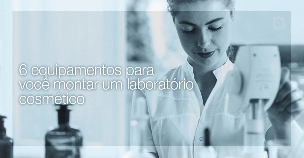 laboratório cosmético